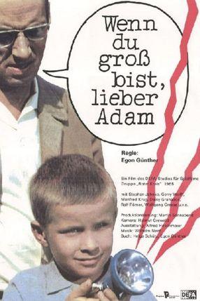 Poster: Wenn du groß bist, lieber Adam