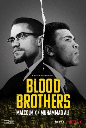Poster: Blood Brothers: Malcolm X & Muhammad Ali