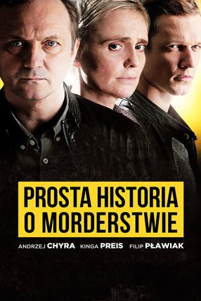Poster: Prosta historia o morderstwie