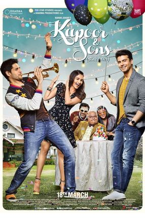 Poster: Kapoor & Sons