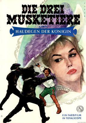 Poster: Die drei Musketiere - 1. Teil: Haudegen der Königin