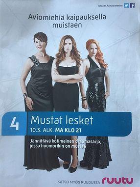 Poster: Black Widows - Rache auf Finnisch