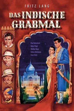 Poster: Das indische Grabmal