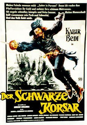 Poster: Der schwarze Korsar