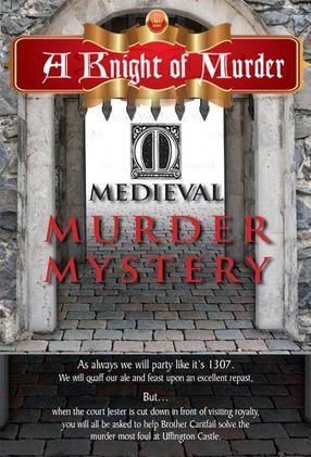 Poster: Mordakte Mittelalter