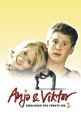 Poster: Anja og Viktor - Kærlighed ved første hik 2