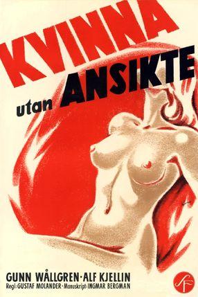 Poster: Frau ohne Gesicht