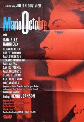 Poster: Marie-Octobre