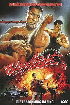 Poster: Bloodfight 4 - Die Abrechnung im Ring!