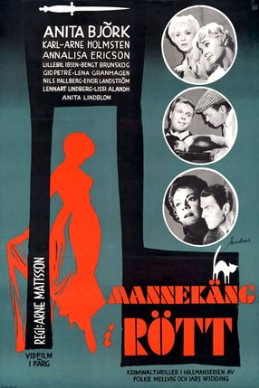 Poster: Mannequin in Rot