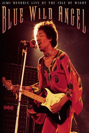 Poster: Jimi Hendrix: Live At The Isle Of Wight - Blue Wild Angel