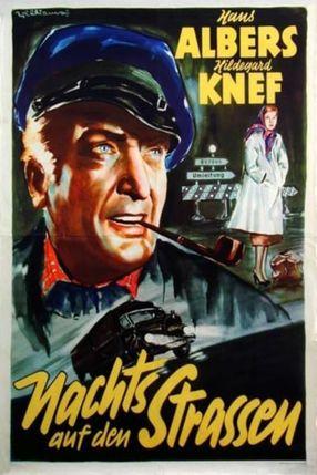 Poster: Nachts auf den Straßen