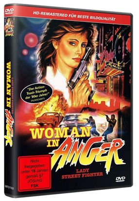 Poster: Woman In Anger - Lady Streetfighter