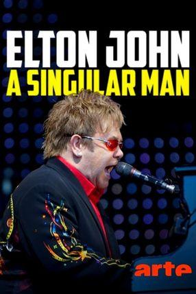 Poster: Elton John: A Singular Man