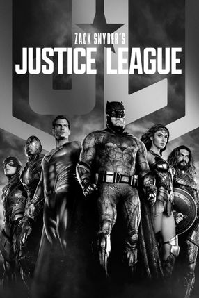 Poster: Zack Snyder's Justice League