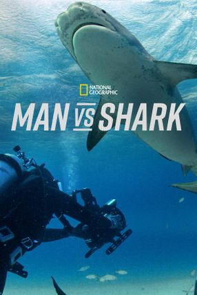 Poster: Mensch vs. Hai