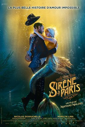Poster: A Mermaid in Paris