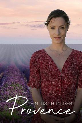 Poster: Ein Tisch in der Provence