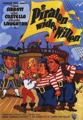 Poster: Abbott und Costello unter Piraten