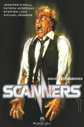 Poster: Scanners - Ihre Gedanken können töten