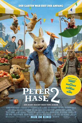 Poster: Peter Hase 2 – Ein Hase macht sich vom Acker
