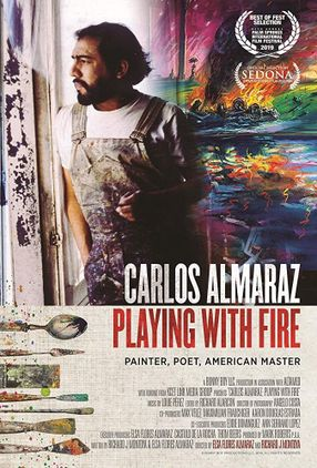 Poster: Carlos Almaraz: Playing With Fire