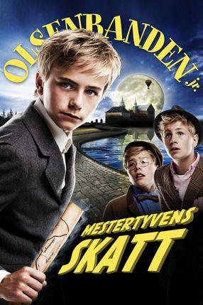 Poster: Olsenbanden jr. Mestertyvens skatt