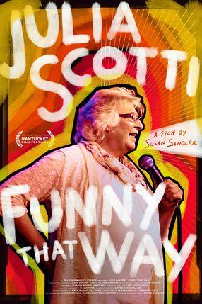 Poster: Julia Scotti: Funny That Way