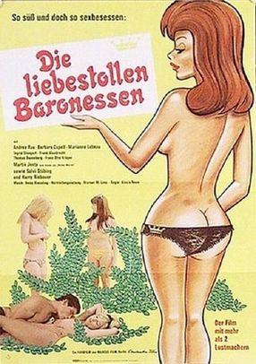 Poster: Die liebestollen Baronessen