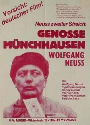 Poster: Genosse Münchhausen