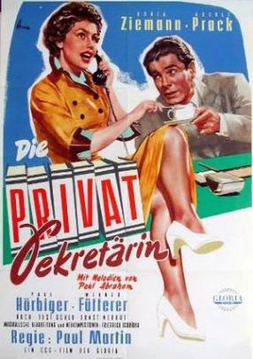 Poster: Die Privatsekretärin