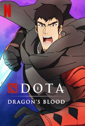 Poster: DOTA: Dragon's Blood