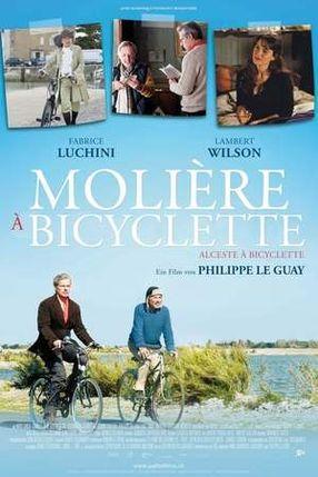Poster: Molière auf dem Fahrrad