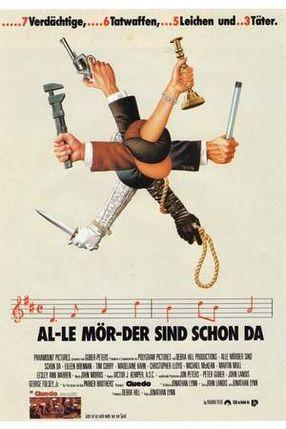 Poster: Alle Mörder sind schon da
