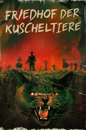Poster: Friedhof der Kuscheltiere
