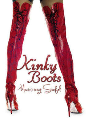 Poster: Kinky Boots - Man(n) trägt Stiefel