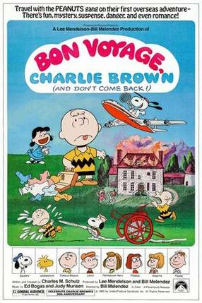 Poster: Gute Reise, Charlie Brown