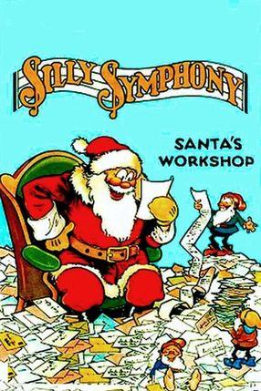 Poster: Die Werkstatt vom Weihnachtsmann