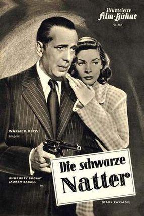 Poster: Die schwarze Natter