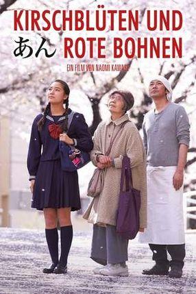 Poster: Kirschblüten und rote Bohnen