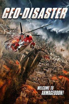 Poster: Geo-Disaster - Du kannst nicht entfliehen