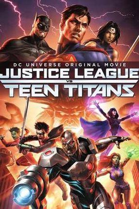 Poster: Justice League vs. Teen Titans