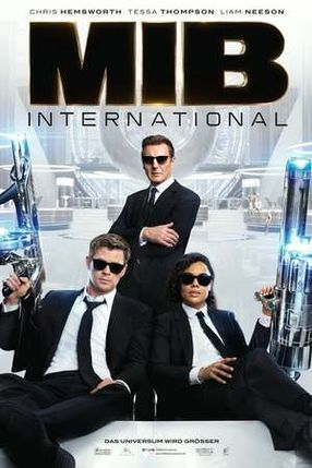 Poster: Men in Black: International