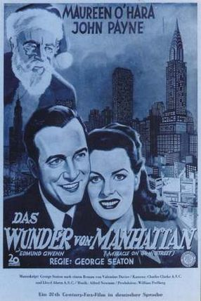 Poster: Das Wunder von Manhattan