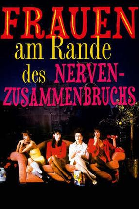 Poster: Frauen am Rande des Nervenzusammenbruchs