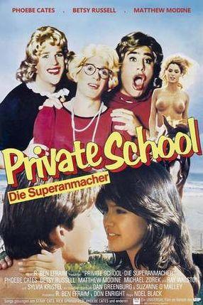 Poster: Private School - Die Superanmacher