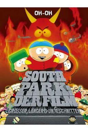 Poster: South Park: Der Film - größer, länger, ungeschnitten