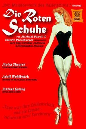 Poster: Die roten Schuhe