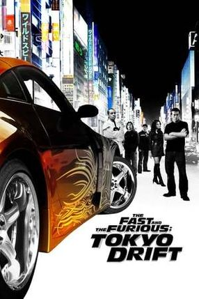 Poster: The Fast and the Furious: Tokyo Drift