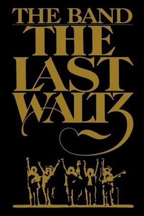 Poster: The Band - The Last Waltz